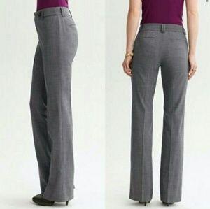 Banana Republic Ryan Fit Gray Pinstripe Trousers